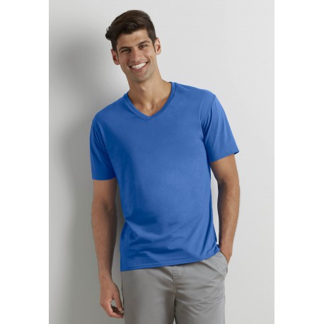 T-shirt Homme Premium Col V Premium Cotton Adult V-Neck T-shirt