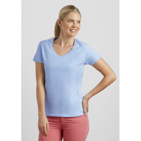 T-shirt Femme Premium Col VPremium Cotton Ladies' V-Neck T-shirt