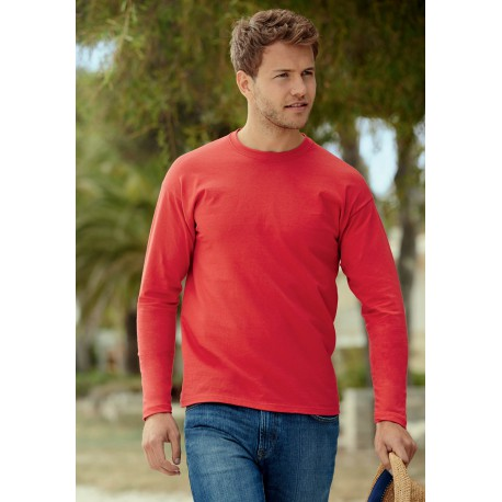 T-SHIRT MANCHES LONGUESVALUEWEIGHT LONG SLEEVES (61-038-0)