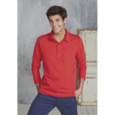 POLO JERSEY MANCHES LONGUES