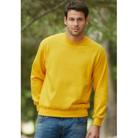 SWEAT-SHIRT MANCHES DROITESSET IN SWEAT (62-202-0)