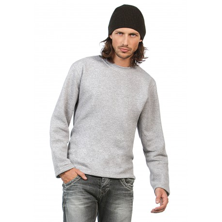 SWEAT-SHIRT COUPE DROITEOPEN HEM