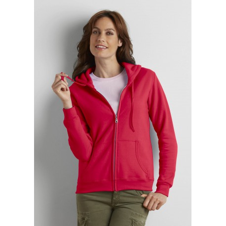 SWEAT-SHIRT ZIPPÉ CAPUCHE FEMMEHEAVY BLEND LADIES' FULL ZIP HOODED
