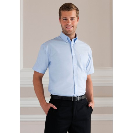 OXFORD SHIRT CHEMISE OXFORD HOMME MANCHES COURTES