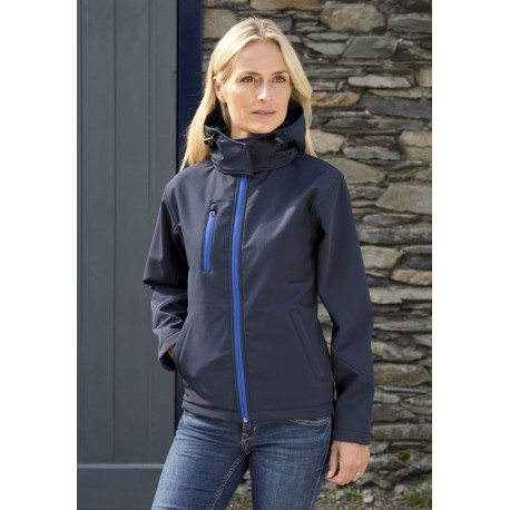 Veste Softshell Capuche FemmeWomen's Performance Hooded Softshell