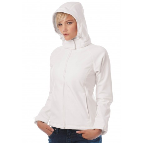 VESTE CAPUCHE SOFTSHELL FEMMEHOODED SOFTSHELL WOMEN