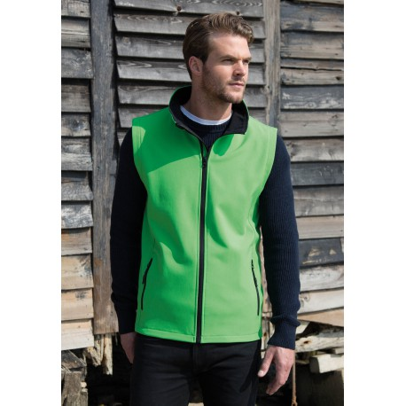 "Body Softshell ""Printable"" HommeCore Printable Softshell Bodywarmer Homme"