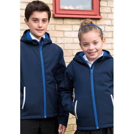 JUNIOR TX PERFORMANCE SOFTSHELL  JACKETSOFTSHELL CAPUCHE ENFANT